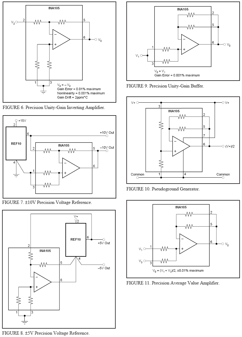 Gain 2 Of Precision Amplifier Circuit Ina105 Amplifiercircuit The Differential Is Foundation Many Commonly Used Circuits Provides This Function Without Using An Expensive