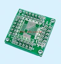 QFP48-0.5mm-DIP-轉接板