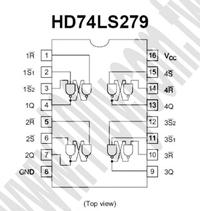 HD74LS279P