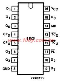 HD74HC192P