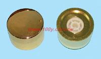 純銅車製鍍金旋鈕