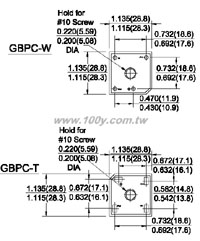 GBPC3508GT/W