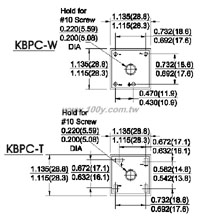 KBPC15005GT/W