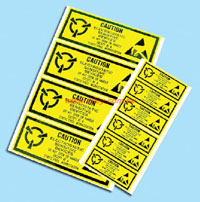 防靜電貼紙-65*25mm