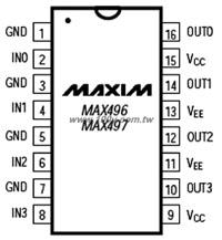 MAX496CPE+