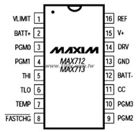 MAX713CPE