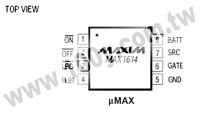 MAX1614EUA+T