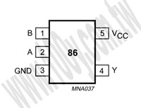 74AHC1G86GW