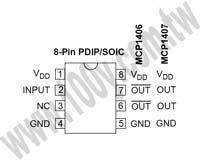 MCP1407-E/SN