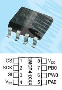 MCP41100-E/SN