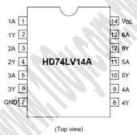 HD74LV14AFPEL