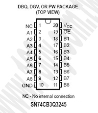 SN74CB3Q3245DBQR