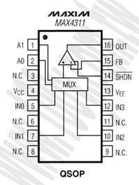 MAX4311EEE+