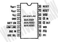 MAX693CPE+