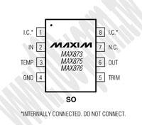 MAX873BESA+