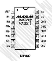 MAX8213ACSE+