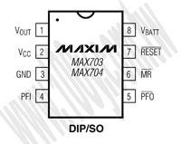 MAX704CPA+