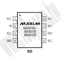 MAX6198BESA+