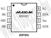 MAX4427ESA+