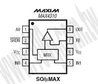 MAX4310ESA+