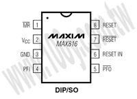 MAX816CSA+