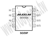 MAX4506ESA+