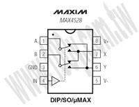 MAX4528CPA+