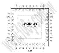 MAX4758ETX+
