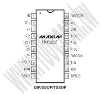 MAX3223ECAP+