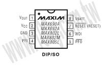 MAX690AEPA+