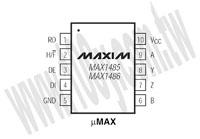 MAX1486CUB+