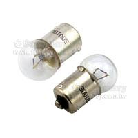 圓頭燈泡-30V/10W-BA15S-單點