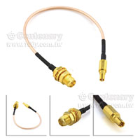 RG178-CRC9-SMA(F)M-Pin-15cm