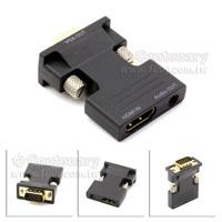 HDMI-VGA+音訊-轉換器
