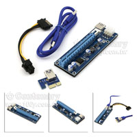 PCI-E-1X锣16pcie 蛮玲��USB3.0