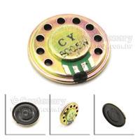 圓型內磁式喇叭-0.5W-8Ω-27mm