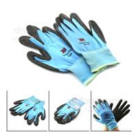 3M-防滑耐磨手套-M-藍色