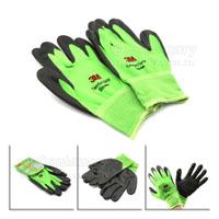 3M-防滑耐磨手套-XL-綠色
