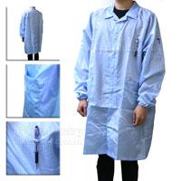 防靜電醫生袍-水藍色-3L