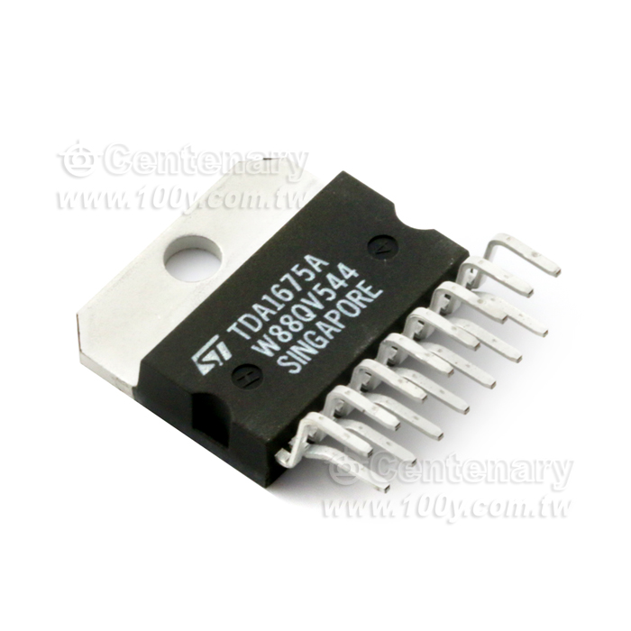 TDA1675A  Vertical Deflection Circuit 15-Pin MULTIWATT