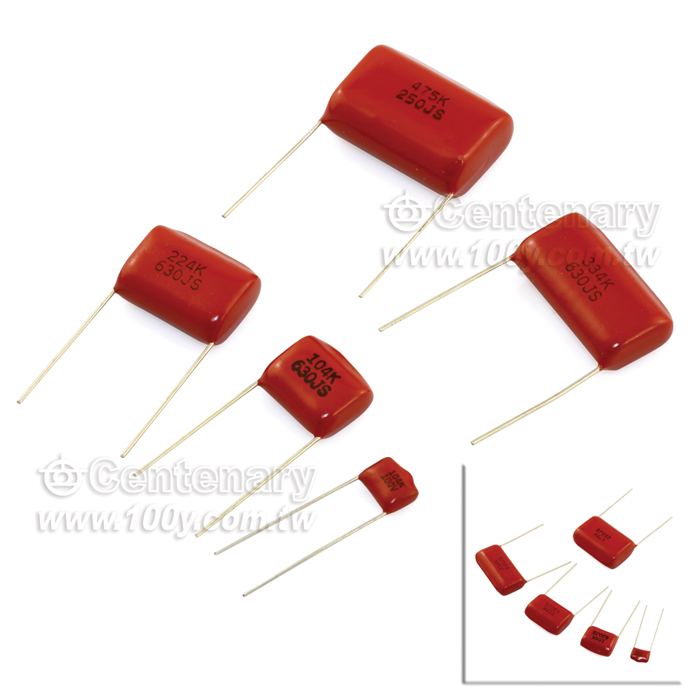 勝特力電子零件材料 Gt Mef 103k 630v Cl21電容0 01uf 177 10