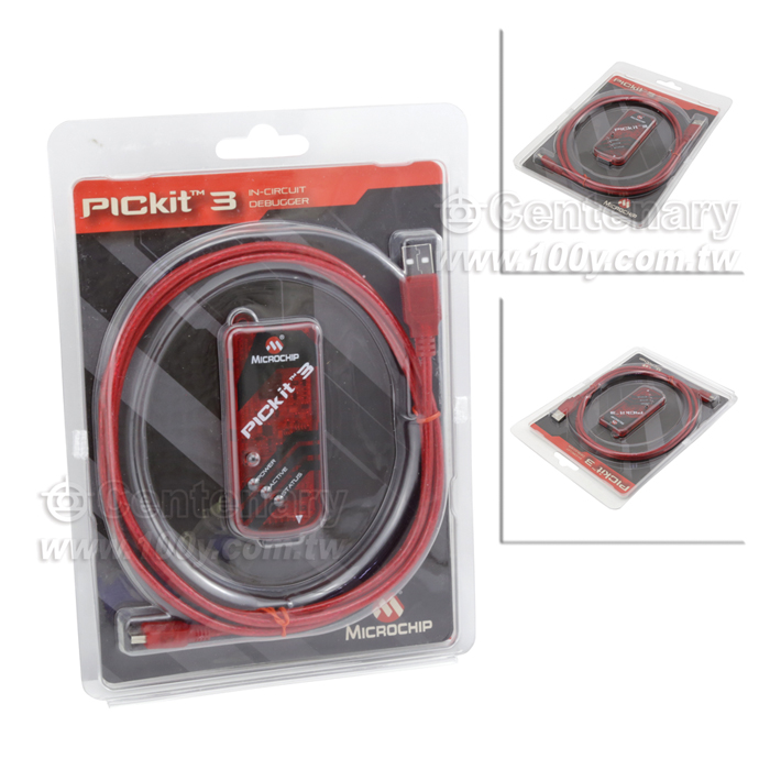 pickit-3 pickit 3编程器下载线 (ac164110) 117826