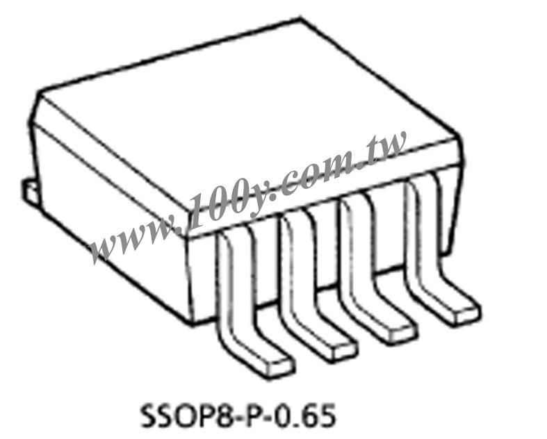 tc7wh123fu toshiba 8p sm8 7-Segment Display Code tc7wh123fu