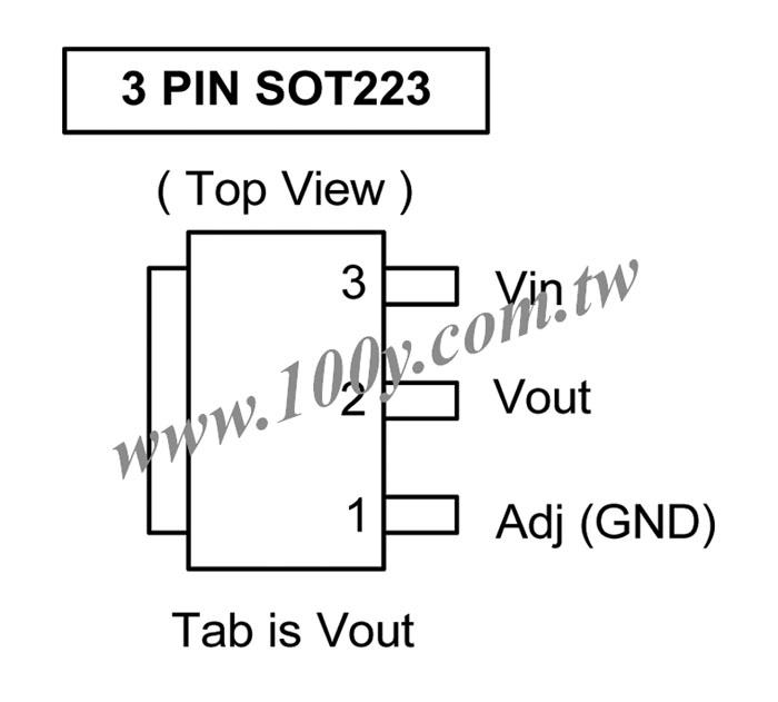 ap1117ela diodes sot223