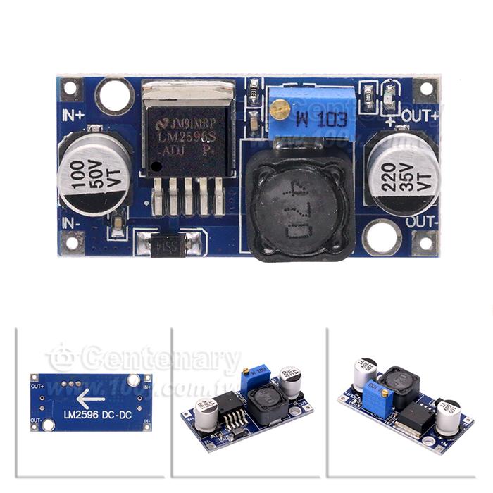 lm2596s dc-dc 直流转换器(降压电路板)  规格  lm2596s 降压电源