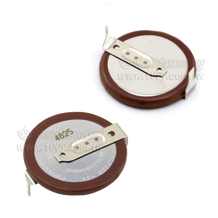 勝特力電子零件材料 Gt Vl2020 Hfn 鈕扣鋰電池 3v 20mah Panasonic