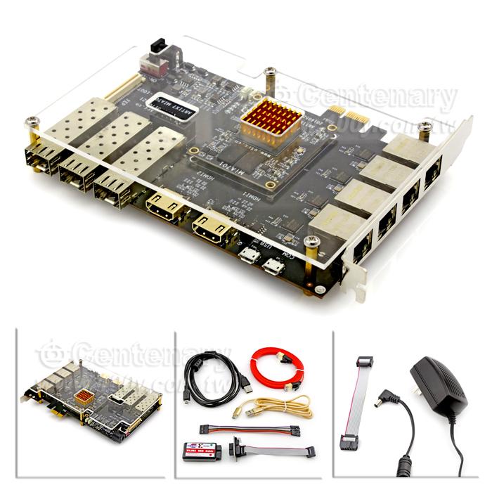xilinx fpga开发板artix7 pcie2.0光通信