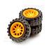 橡胶车轮-2*18mm