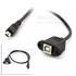 MiniUSB(M)-USB-B(F)+耳朵-50CM