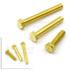 六角平头铜螺丝-DIN933-M6*20